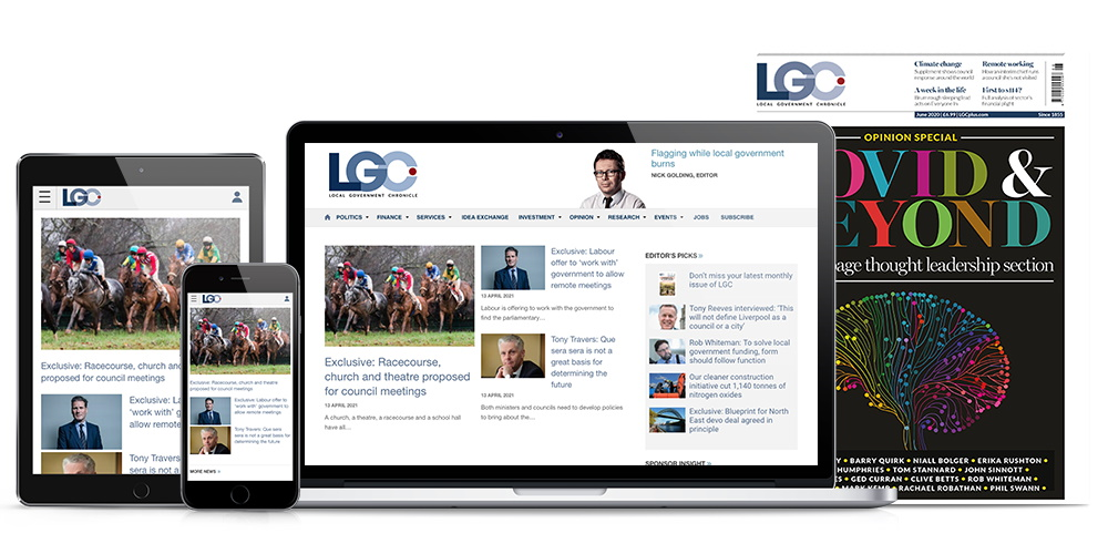 Full range of LGC magazine products
